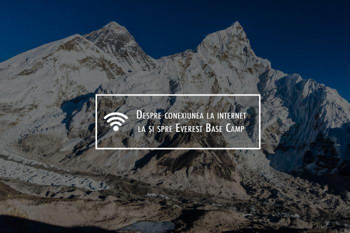 Despre accesul la internet pe traseul de trekking spre Everest Base Camp