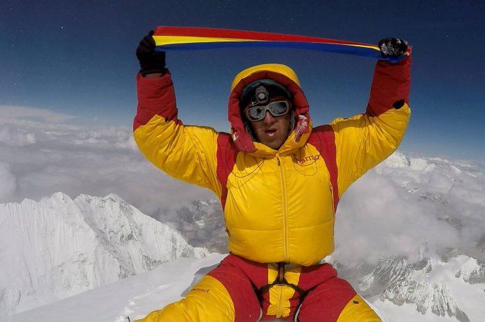 Horia Colibasanu primul roman pe Everest fara oxigen suplimentar!