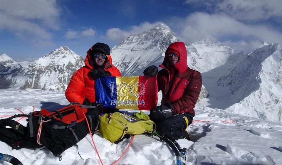 Premiera Romanesca in Himalaya, ruta noua pe Pumori. Teo Vlad, Zsolt Torok si Romeo Popa scriu istorie in alpinismul international
